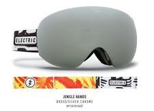 New Electric Eg3.5 Jungle Hands Brose Silver Mens ski snowboard goggles Ret$200