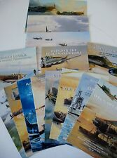 Large Lot Aviation Art Advertising Flyers Artist Robert Taylor 14 Brochures