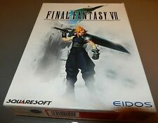 FINAL FANTASY 7 VII -  FF7  - FFVII   PC game rare  Original BIG BOX 1998