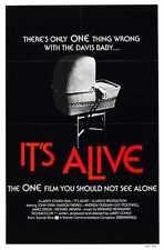 Its Alive Poster 01 Metal Sign A4 12x8 Aluminium