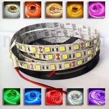 12V/24V 5M 5050 LED Flexible Strip Light Ribbon Tape 300LEDs Non Waterproof