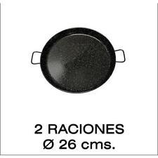 Paella Valenciana esmaltada 26cm Garcima