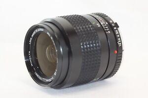 Minolta W.Rokkor-HH MC 35mm F/1.8 MF MC Lens Made In Japan