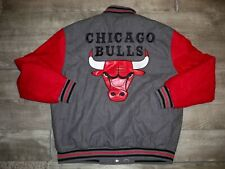 Chicago Bulls JH Design Vintage Windbreaker Puffer Jacket Men's Size XL 90s Coat