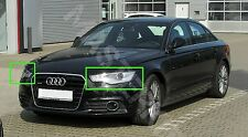 Audi A6 C7 2013-2015 Left and Right Front Kit Cover Lens for Headlights + glue