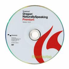 Nuance Dragon NaturallySpeaking Premium 13 - DVD