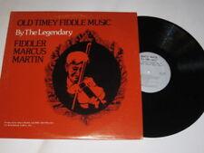 Fiddler Marcus Martin - Old Timey Fiddle Music LP RARE NM- North Carolina