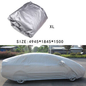 Car Full Cover Sun/Snow/Dust/Resistant Protector Waterproof Universal Fit XL