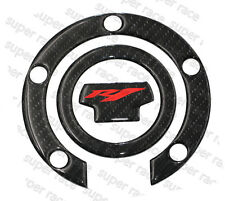 3D Carbon Fiber Gas Cap Tank Cover Pad Sticker For Yamaha YZF R1 2000-2014 12 13