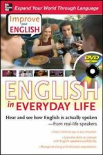 Improve Your English: English in Everyday Life DVD w/ Book: Hear and see how E
