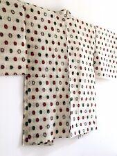 Japanese genuine Vintage Meisen Kimono Haori Jacket, Party Dress art textile