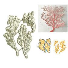 Ocean Coral Metal Cutting Dies Stencil for DIY Scrapbooking Paper Card DecorSLN