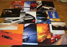 1999 Saab Sales Brochure Collection Lot of 17 Pieces 99