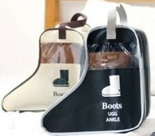 Short Boot Shoes Storage Travel Bag Protector Organizer Dustproof Container