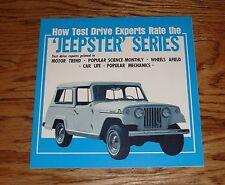 Original 1967 Jeep Jeepster Series Sales Brochure 67