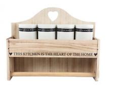 Carta da cucina in legno Rotolo di supporto storage Dispenser Contenitore Unità di montaggio a parete