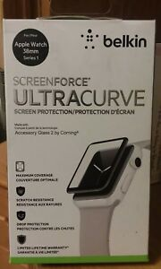 Belkin ScreenForce UltraCurve Screen Protector for Apple Watch 38 mm Series 1