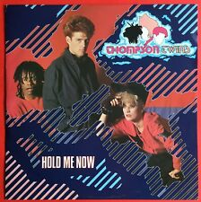 """Thompson Twins Hold Me Now 12"""" Single 1983 Excellent Condition"""