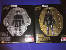 Bandai Tamashii SH Figuarts Daft Punk GUY MAN & BANGALTER Full Figure Set Mint