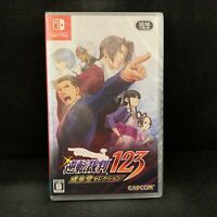Phoenix Wright Ace Attorney 123 Trilogy (Nintendo Switch) English / Import