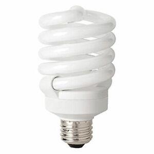 TCP CFL Pro A 100 Watt Equivalent (27W) Soft White Full Spring Lamp Light Bulb