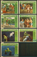 Creature from the Black Lagoon - original 7 x lobby cards