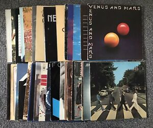 JOB LOT / COLLECTION 36 x ROCK LPs / ALBUMS *LOOK* SEE PHOTOS
