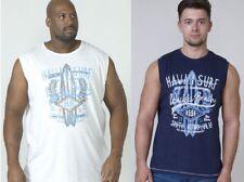 Mens DUKE D555 Vest Sleeveless Muscle T shirt Polo Tank Top Gym Vests Summer