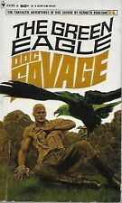 DOC SAVAGE #24: THE GREEN EAGLE  by Kenneth Robeson - 1st Paperback Printing