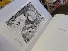 Ex-libris Jean-Claude SERVAIS La fée signé 15x21 cm