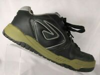 Air Walk Andy Mac Skate Black Leather Shoes Men's Size 12
