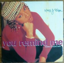 "MARY J BLIGE - YOU REMIND ME 1993 12"" VINYL SINGLE. MCST 1770."
