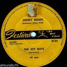 THE JOY BOYS Smoky Mokes / Kurrawatha OZ 45