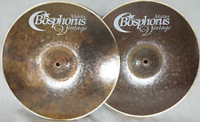 "Bosphorus Master Vintage 14"" Hihat Becken mit Soundfile / Piatto cymbale Cymbal"