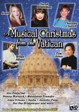 A Musical Christmas from Vatican DVD NEW TOM JONES BRIGHTMAN JEWEL BRYAN ADAMS