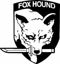 Fox Hound coche, barco, van, ventana, Muebles, Laptop, Vinilo graphics/sticker/decal