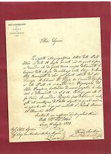 Arcivescovato di Lucca - Vicariato Generale - Limosina per le Messe 1879