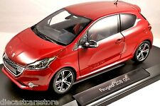 NOREV 2013 PEUGEOT 208 GTI RED 1/18 DIECAST CAR MODEL 184700