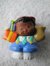 New Fisher Price Little People BIRTHDAY PARTY MICHAEL African Boy PRESENTS GIFTS