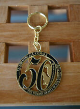 50th Anniversary Celebrating All Animals Humane Society United States Keychain