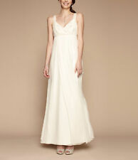 Monsoon Ladies Wyatt Bridal Dress in IVORY UK 8/EU 38/US 6 RRP £250