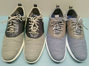 Lot of 2 Pairs Cole Haan Grand Tour Knit Oxfords Mens shoes Size 11.5 VERY NICE!