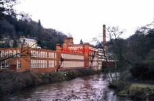 PHOTO  1999 MASSON MILL MATLOCK BATH BEAUTIFULLY PRESERVED COMPLEX BY THE RIVER
