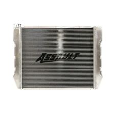 "19""X22"" Aluminum Crossflow Radiator High Performance Ford Mopar Inlet Outlet HD"