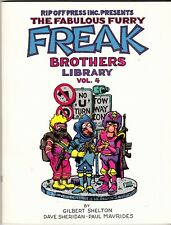 FREAK BROTHERS LIBRARY Vol. 4 (2nd Printing - 1995) Gilbert Shelton - Rip Off