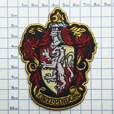"HARRY POTTER ""GRYFFINDOR"" Embroidered Robe Style Patch - Size, NEW"