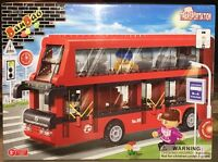 BanBao 8769 Double Decker Bus Building Block Set 412pcs Bricks New