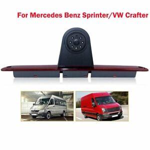 Brake Light Rear View Backup Camera For Mercedes Benz Sprinter VW Crafter 07-19