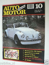 AMK 1990-10,VW KEVER CABRIO BEETJE,AUSTIN HEALEY SPRITE LE MANS,MOST GP,DKW,