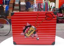 COLA BERMAS KOFFER Rote Lippen 80er True VINTAGE 80s suitcase red lips Kinder